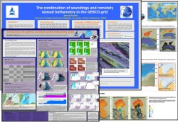A selection of posters displayed at this year's GEBCO Science Day