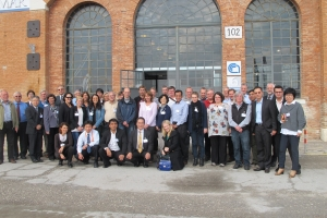 Attendees at the recent GEBCO meetings held at ISMAR, Venice, Italy, October 2013