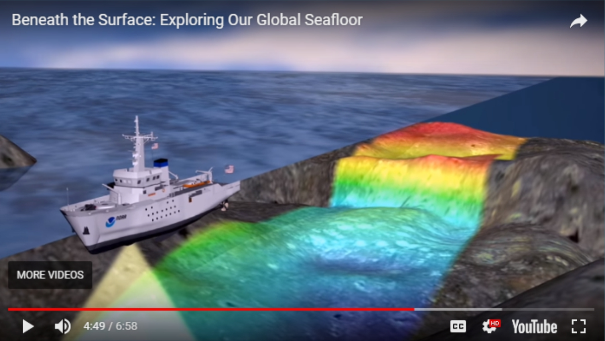 Image taken from the video: Beneath the Surface: Exploring Our Global Seafloor