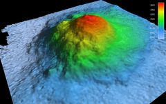Madiba Seamount, imagery from Jan Erik Arndt at the Alfred Wegener Institute (AWI)