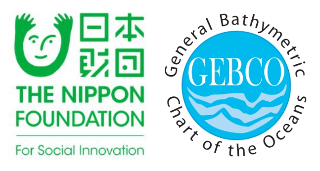 logos of the Nippon Foundation and GEBCO